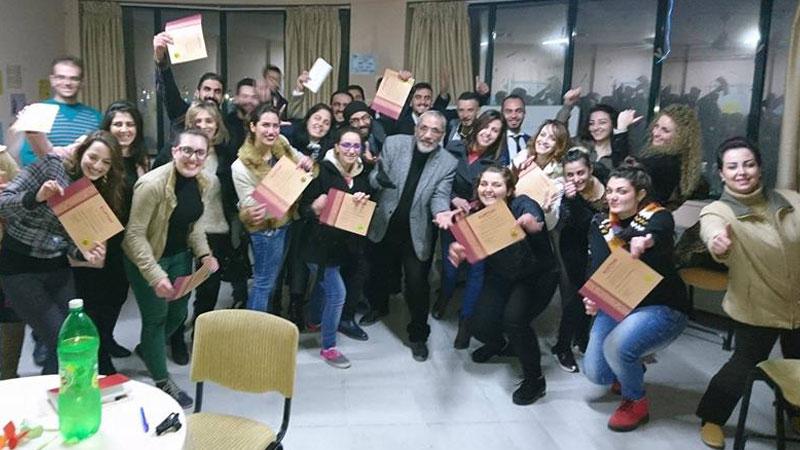 نهاية عام سعيدة مع دبلوم البرمجة اللغوية العصبية المدرب الاستشاري الدكتور  محمد عزام القاسم