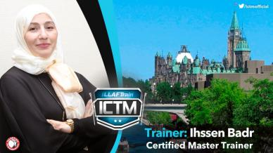Mrs. Ihssen Badr completed the road to success and getting the ILLAFTrain Trainers Membership