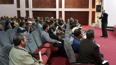 الجمعية المهنية بمدينة أكادير استضافت المدرب أول عادل عبادي فيورشة تدريبية بعنوان التوازن الإنساني