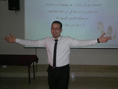 ثلاثة أيام تدريبية وكل يوم في مكان جديد بدورة التعامل مع الضغط للمدرب محمد زياد الوتار