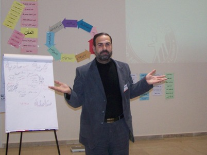 اختبار المتدرب مصطفى الأعرج