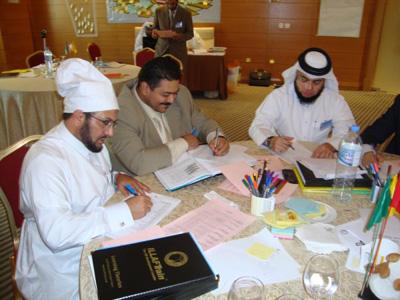 من اليمين: شادي السيد ، وليد محمود عبد الموجود، حمود عبدالله المريسي