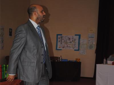 المدرب عبد اللطيف صابور يقدم عرض المهارات الثالث عشر