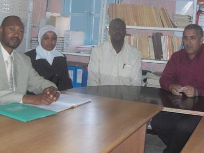 لقاء مع السيد مقران صالح مدير الديوان الوطني في التاسيلي