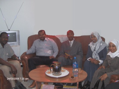 A meeting with Mr. Yusuf Hamadany- the manager of the vocational creating institution