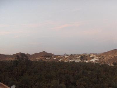 جانب من امتداد سلسلة جبال الطاسيلي