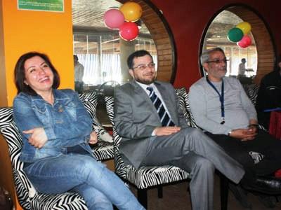 كانت هناك جولات عديدة للمتدربين حضر بعضاً منها د. محمد بدرة مع مدرب الدورة محمد عزام القاسم.