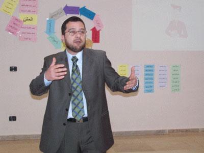 Trainer Mohammed Pedra