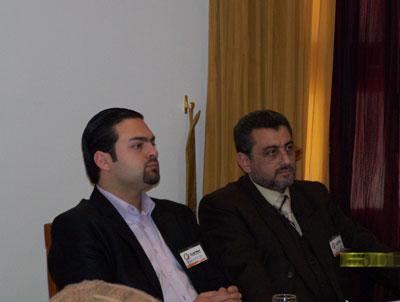 Trainee Yosef  I.Humady (right) - Trainee Ali  hlehel (left)