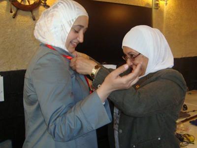 راميا الصيداوي استحقت بجدارة دبوس إيلاف ترين.