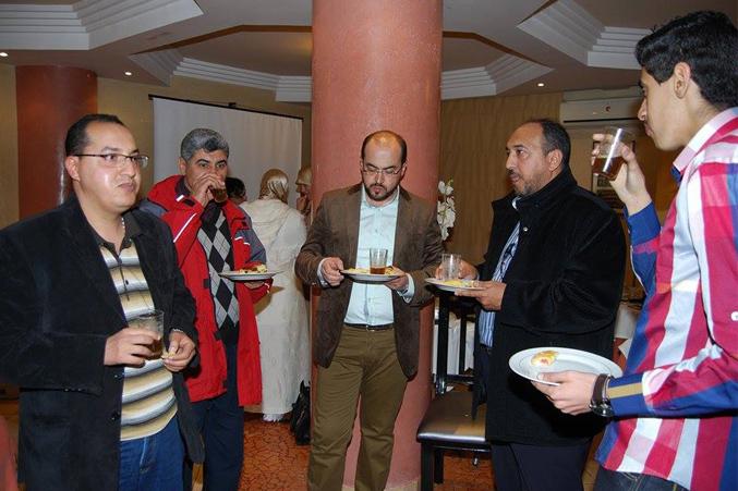الضيوف خلال الإحتفال