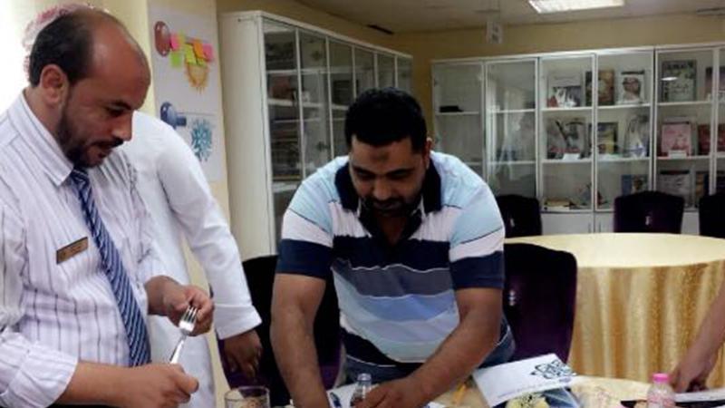 التميز في خدمة المحسنين مع المدربة زينب المطوع