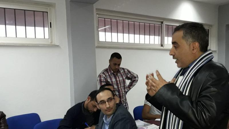 فن الخطابة والتحدث أمام الجمهور بقيادة المدرب عبد الله ادالكاهية