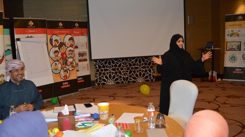 أنشطة وعروض دورة ممارس التعلم السريع