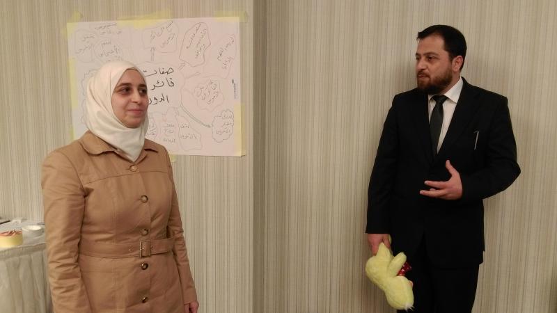إشراف الدكتور محمد على تقديم العروض التدريبية