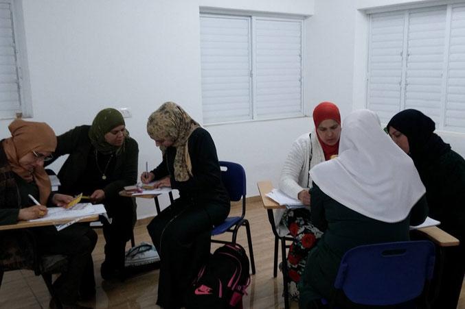 تقسيم المتدربين لمجموعات وتنفيذ التمرينات