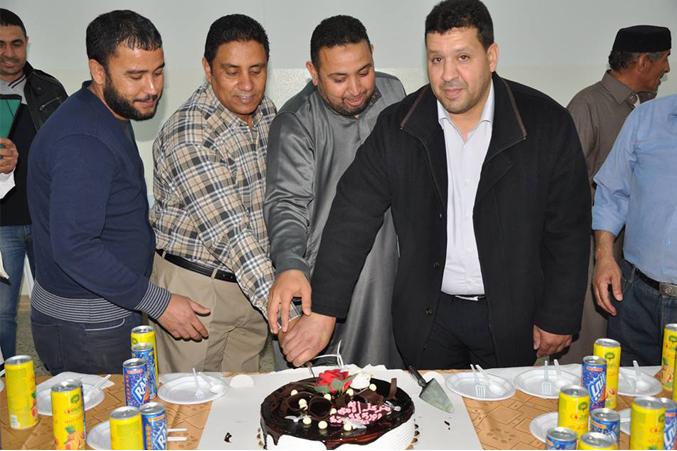 المدرب جمعة محمد سلامة يختتم دورة القيادة الوقائية