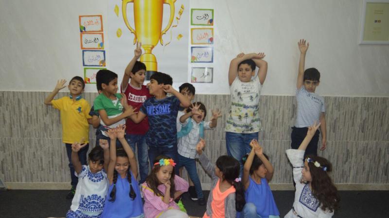 صورة تذكارية للأطفال