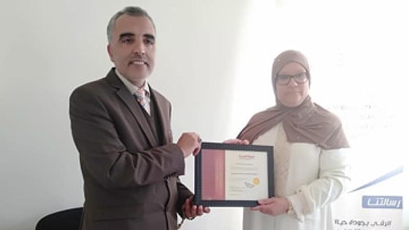 المدرب عبدالله ادالكاهية في دورة استشاري اسري