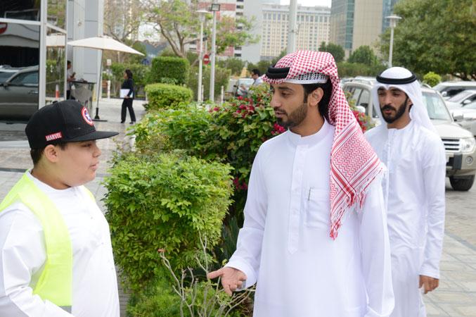 من التحضيرات لزيارة المركز مع المدرب أول ماجد بن عفيف