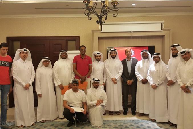 مركز الإبداع الثقافي التابع لوزارة الثقافة والرياضة يستضيف المدرب حمزة الدو
