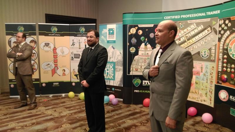 الدكتور أحمد نوري أثناء حفل الختام