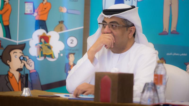 المدرب أول حسين الشاطري أثناء التقويم