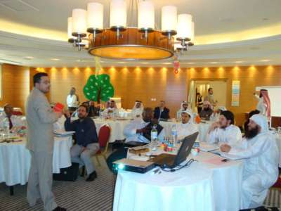 """Qatar – Doha: The launching of ICT at Millennium Hotel under the sponsorship of """"Doha Youth"""" for the first time"""