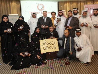 Qatar - Doha: Doha pioneers discover the Training of Trainers course treasures