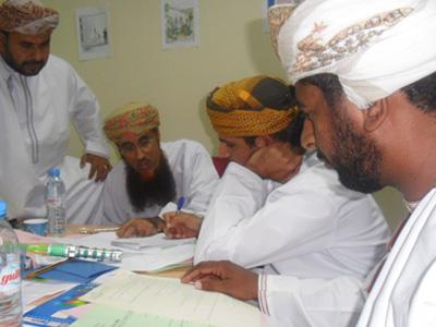 سلطنة عمان - مسقط: مارتون التعلم السريع يمر في مسقط