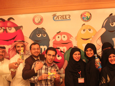 Qatar – Doha: M&M pills dance in a high happiness in the goodness Doha