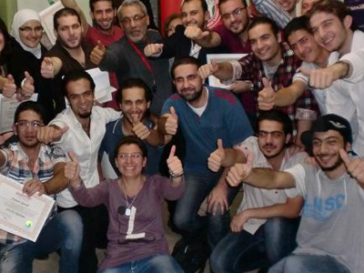 Syria - Damascus: NLP Bazaar is a new feature for the NLP diploma course