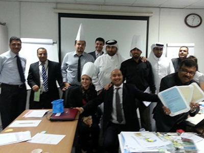 Qatar - Doha: Closure of the management correspondence skills for trainer Hisham Zaki