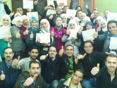 سوريا - دمشق: اختتام دورة دبلوم الذكاء العاطفي للمدرب أحمد خير السعدي