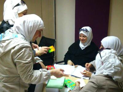 مصر - 6 أكتوبر: اختتام دروة الرياضيات السحرية للمدربة سميه مكي