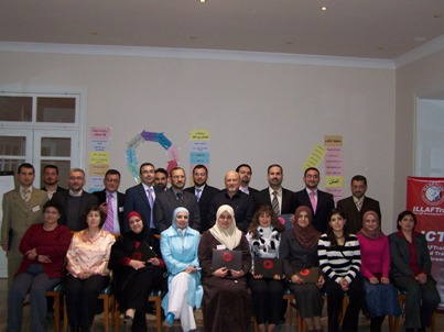 Syria - Slunfeh: the events of ICT course, 6 March, 2008