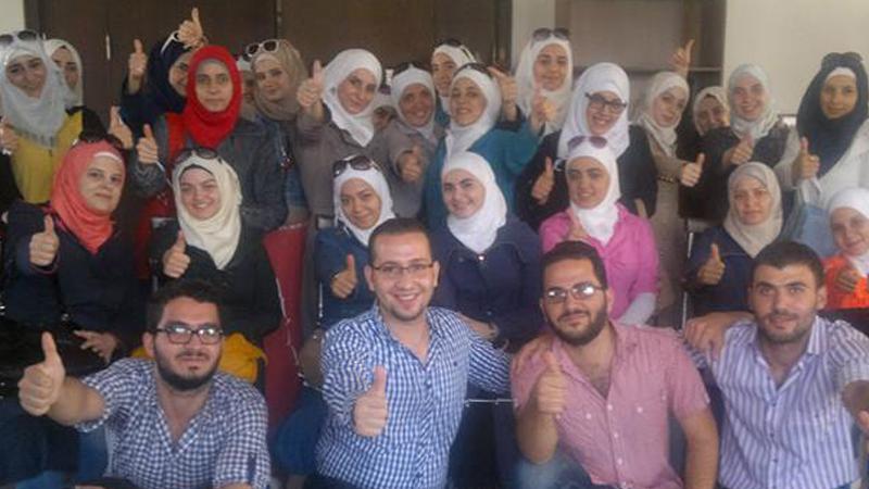 مبادئ التواصل الفعَّال مع المدرب محمد زياد الوتار في ورشة عمل بالمركز الثقافي العربي