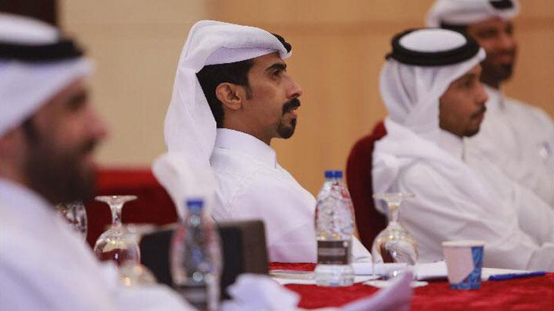 وتستمر رحلة مهارات الاتصال  الدوحة وبقيادة المدرب أول حمزة الدوسري