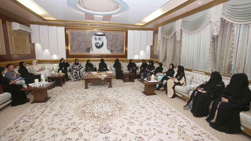 مشاركة المدربة مي البنا في مجلس القمة الذي أقيم في مدينة العين في دولة الإمارات العربية المتحدة
