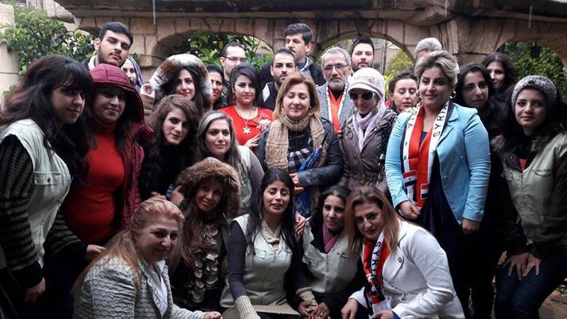 أسبوع التنمية البشرية في مدينة حمص مع المدرب الاستشاري الدكتور محمد عزام القاسم