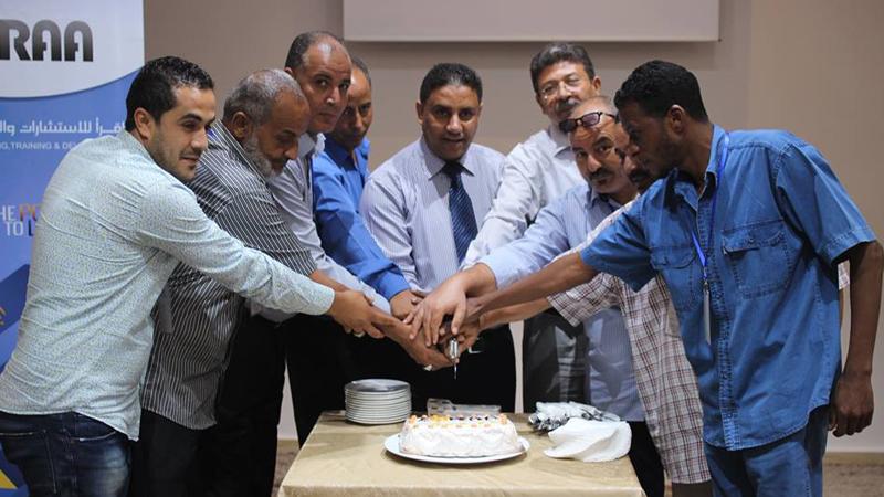 (تنمية مهارات رجال الأمن والحراسات) دورة تخصصصية للمدرب جمعة محمد سلامة