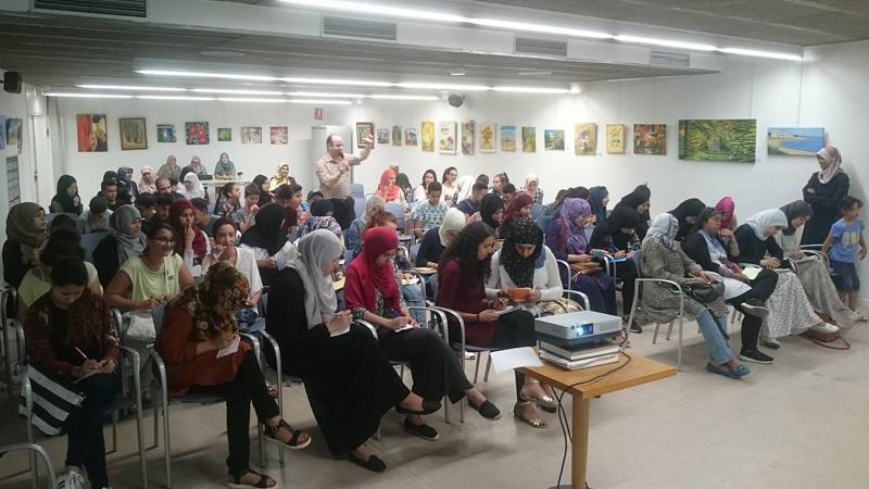 بلدية SANTA COLOM  في إقليم كتالونيا تسثمر وجود المدرب أول عادل عبادي في أمسية مثمرة حول صناعة التميز