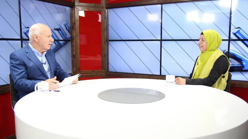 لقاء تلفزيوني على قناة هلا مع المدربة فاتن أحمود