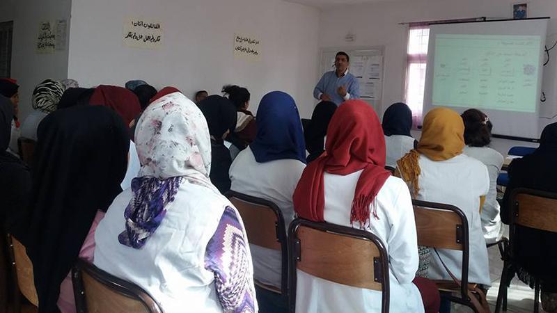 تنمية القدرات للطلاب بقيادة المدرب محمد زهير الشرتي