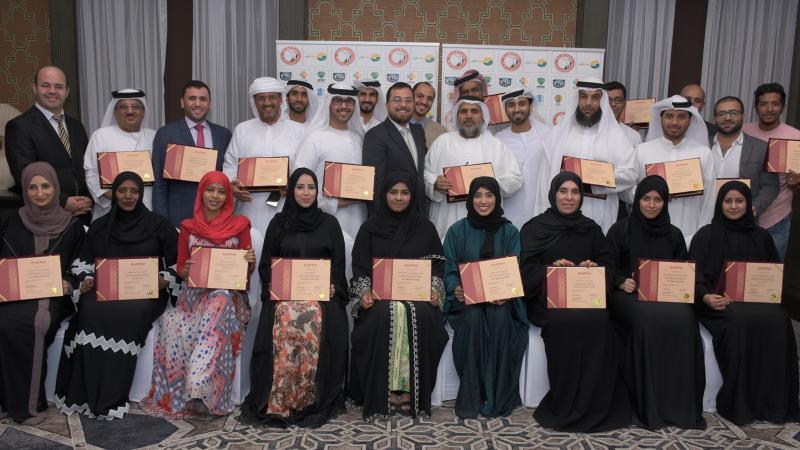 إيلاف ترين الإمارات في مستويات البرمجة اللغوية(دبلوم، مساعد ممارس، ممارس ) بقيادة الاستشاري الدكتور محمد بدرة