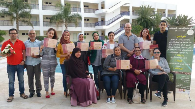 دبلوم البرمجة اللغوية العصبية، وإنجاز جديد للمدرب الأول المتألق عادل عبادي
