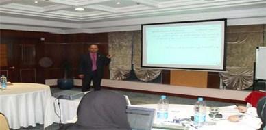 قطر - الدوحة: ختام البرنامج التدريبي لتصميم الدورات التدريبية مع المدرب رائد خليل