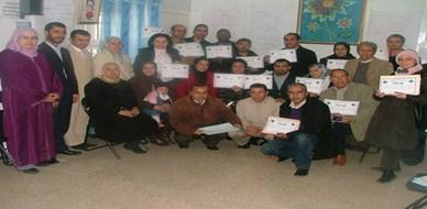 المغرب – الرباط: المدرب حسن المشهور في برنامج تكوين مكوني الجمعيات