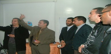 المغرب - الراباط: مشاركة المدرب محمد بحسين في برنامج تكوين مكوني الجمعيات