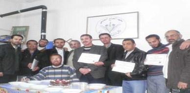 سوريا - حمص: اختتام دورة دبلوم تكنولوجيا إدارة الأعمال للمدرب محمد عزام القاسم